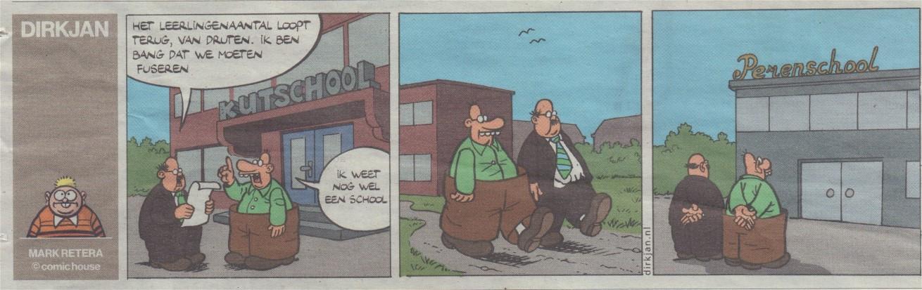 Plaatje Dirkjan uit het Algemeen Dagblad van 21 oktober 2017